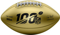 NFL Wilson Gold Limited Edition Leather Football