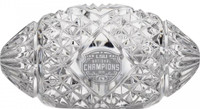 LSU Tigers 2019 National Champions Solid Mini Crystal Football LE 5,000