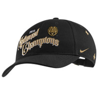 LSU Tigers 2019 College Football Playoff National Champions Nike Locker Room Adjustable Hat – Black