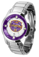 LSU Tigers 2019 CFP National Champions Stainless Steel Titan Watch