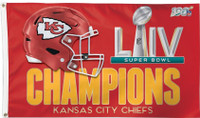 Kansas City Chiefs Super Bowl LIV Champions 3' x 5' Flag