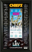 Kansas City Chiefs Super Bowl LIV Champions Signature Jumbo Ticket LE 5,000