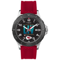 Kansas City Chiefs Timex Super Bowl LIV Champions Gamer Watch