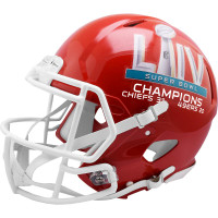 Kansas City Chiefs Super Bowl 54 Champions Helmet - Authentic Speed