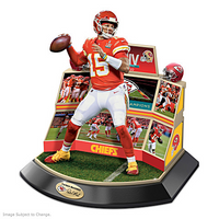 Kansas City Chiefs Super Bowl LIV Patrick Mahomes Hand Painted Sculpture LE