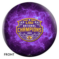 LSU Tigers 2019 National Champions Commemorative Bowling Ball