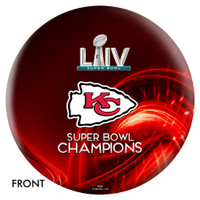Kansas City Chiefs Super Bowl LIV Champions Bowling Ball - Red