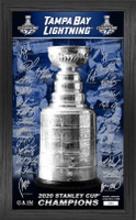 Tampa Bay Lightning 2020 Stanley Cup Champions Signature Trophy LE 5,000