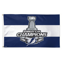 Tampa Bay Lightning 2020 Stanley Cup Final Champions 3' x 5' Team Flag