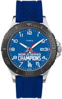 Los Angeles Dodgers Timex 2020 World Series Champions Tribute Watch