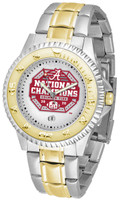 Alabama Crimson Tide 2020/21 CFP 18-Time National Championship 23k Gold Competitor Two-Tone  Watch