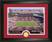 Oklahoma Sooners 125th Anniversary 7x National Champions Bronze Coin Photo Mint LE 5,000