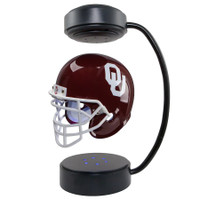Oklahoma Sooners Levitating Mini Authentic Helmet Lights And Spins
