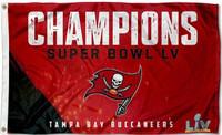 Tampa Bay Buccaneers Super Bowl LV Champions 3' x 5' Team Flag