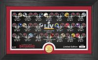 Tampa Bay Buccaneers Super Bowl LV Champions Season's Photo Mint LE 5,000