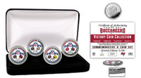 Tampa Bay Buccaneers Super Bowl 55 3pc Victory Silver Mint Coin Set LE  5,500