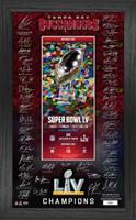 Tampa Bay Buccaneers Super Bowl LV Champions Signature Ticket LE 5,000