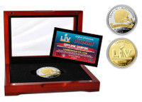 Tampa Bay Buccaneers Super Bowl 55 Champions Two-Tone Mint Coin LE 5,500