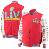 Super Bowl LV G-III Sports by Carl Banks Commemorative Jacket - Red/White