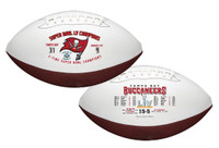 Tampa Bay Buccaneers Super Bowl LV Champions Season's Wilson Leather Football LE 5,000