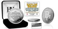 Baylor Bears 2021 NCAA Men's Basketball National Championship Silver Coin w/Case LE 5,000