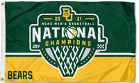 Baylor Bears 2021 NCAA Men's Basketball National Championship Flag
