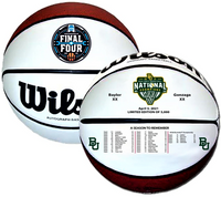 Baylor Bears 2021 NCAA Men's Basketball National Championship Full Leather Basketball LE 52,021