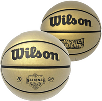 Baylor Bears 2021 NCAA Men's Basketball National Championship Full Leather Gold Basketball LE