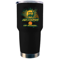 Baylor Bears 2021 NCAA Men's Basketball National Champions 30oz. Black Stainless Steel Tumbler