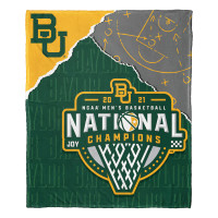 Baylor Bears The Northwest Group 2021 NCAA Men's Basketball National Champions 50'' x 60'' Silk Touch Blanket