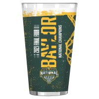 Baylor Bears 2021 NCAA Men's Basketball National Champions Pint Glass Set of 2