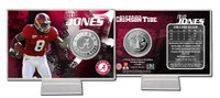 Julio Jones Alabama: Silver Coin Card