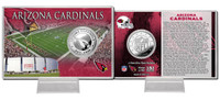 Arizona Cardinals Silver Coin Card
