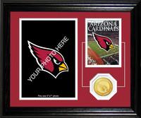 Arizona Cardinals Framed Memories Desktop Photo Mint