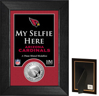 Arizona Cardinals Selfie Minted Coin Mini Mint