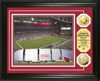 University of Phoenix Stadium Gold Coin Photo Mint