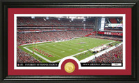 Arizona Cardinals Stadium Bronze Coin Panoramic Photo Mint