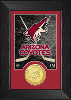 Arizona Coyotes Bronze Coin Mini Mint