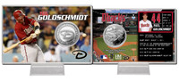 Paul Goldschmidt Silver Coin Card