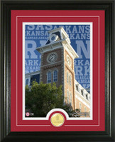 University of Arkansas Campus Traditions Bronze Coin Photo Mint