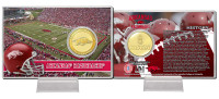 University of Arkansas Bronze Coin Card