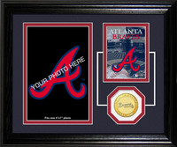 Atlanta Braves Fan Memories Photo Mint