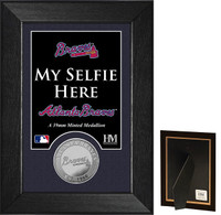 Atlanta Braves Selfie Minted Coin Mini Mint