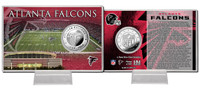 Atlanta Falcons Silver Coin Card