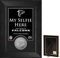 Atlanta Falcons Selfie Minted Coin Mini Mint