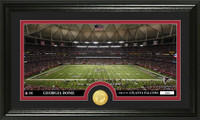 Atlanta Falcons Stadium Bronze Coin Panoramic Photo Mint
