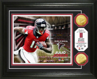 Julio Jones Gold Coin Photo Mint