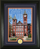 Auburn University Campus Traditions Bronze Coin Photo Mint