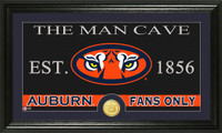 Auburn University Man Cave Bronze Coin Panoramic Photo Mint