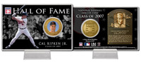 Cal Ripken Jr. Class of 2007 Hall of Fame Bronze Coin Card
